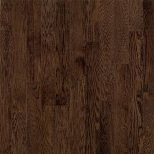 Bruce American Originals Barista Brown Oak 5/16 in. T x 2-1/4 in. W x Random Length Solid Hardwood Flooring (40 sq. ft./case)-SNHD2277 204655250