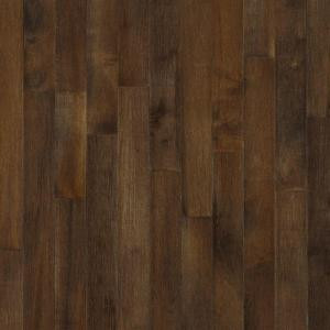 Bruce American Originals Carob Maple 3/4 in. Thick x 2-1/4 in. Wide x Random Length Solid Hardwood Flooring (20 sq. ft./case)-SHD2745 204468587