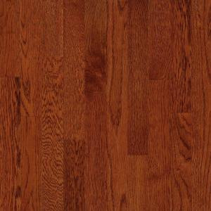Bruce American Originals Ginger Snap Oak 3/8 in. T x 5 in. W x Varying Length Eng Click Lock Hardwood Floor (22sq.ft. /case)-EHD5060L 204655752