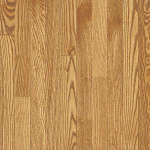 Bruce Bayport Oak Seashell 3/4 in. Thick x 2-1/4 in. Wide x Varying Length Solid Hardwood Flooring (20 sq. ft. / case)-CB1330 300515070