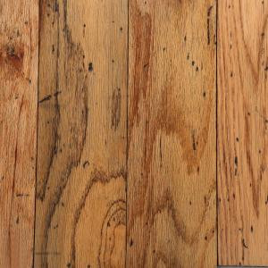 Bruce Distressed Oak Toast 3/8 in. Thick x 5 in. Wide Random Length Engineered Hardwood Flooring (25 sq. ft. / case)-AHS5010Z5P 202057418