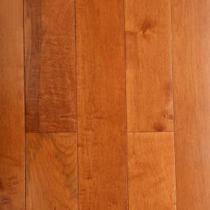 Bruce Maple Cinnamon 3/4 in. Thick x 5 in. Wide x Random Length Solid Hardwood Flooring (23.5 sq. ft. / case)-AHS523 202075241