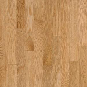 Bruce Natural Reflections Oak Natural 5/16 in. Thick x 2-1/4 in. Wide x Random Length Solid Hardwood Flooring(40 sq. ft./case)-C5010 202667229