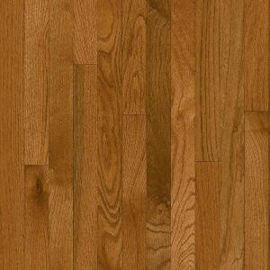 Bruce Plano Oak Gunstock 3/4 in. Thick x 2-1/4 in. Wide x Random Length Solid Hardwood Flooring (20 sq. ft. / case)-C111 206213570