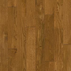 Bruce Plano Oak Spice 3/4 in. Thick x 3-1/4 in. Wide x Random Length Scraped Solid Hardwood Flooring (22 sq. ft. / case)-SPLH3SP 206213573