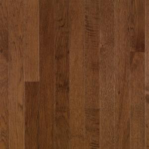 Bruce Plymouth Brown Hickory 3/4 in. Thick x 2-1/4 in. Wide x Random Length Solid Hardwood Flooring (20 sq. ft. / case)-C0688 202665074