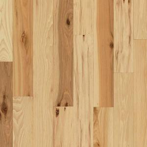 Bruce Rustic Hickory Natural 3/4 in. Thick x 4 in. Wide x Varying Length Solid Hardwood Flooring (18.5 sq. ft. / case)-SHD4110 206178096
