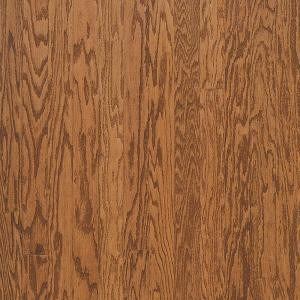 Bruce Town Hall Oak Gunstock 3/8 in. Thick x 3 in. Wide x Random Length Engineered Hardwood Flooring (30 sq. ft. / case)-E531 202667292