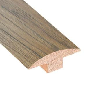 Burnished Straw 3/4 in. Thick x 2 in. Wide x 78 in. Length Hardwood T-Molding-LM6254 202745958