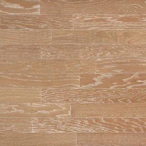 Heritage Mill Brushed Oak Biscotti 3/8 in. Thick x 4-3/4 in. Wide x Random Length Engineered Click Hardwood Flooring (33 sq. ft./case)-PF9808 206088157
