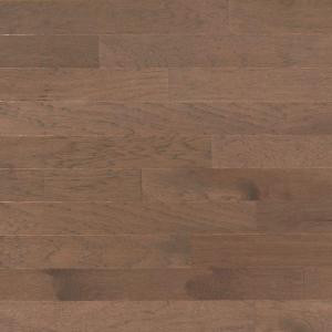 Heritage Mill Brushed Vintage Hickory Stone 3/8 in. x 4-3/4 in. x Random Length Engineered Click Hardwood Flooring (33 sq. ft. / case)-PF9754 206126473