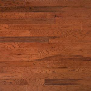 Heritage Mill Hickory Leather 3/4 in. Thick x 4 in. Wide x Random Length Solid Real Hardwood Flooring (21 sq. ft. / case)-PF9712 206021912