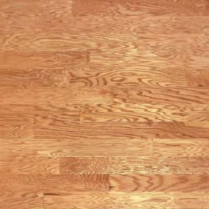 Heritage Mill Red Oak Natural 3/8 in. Thick x 4-3/4 in. Wide x Random Length Engineered Click Hardwood Flooring (33 sq. ft. / case)-PF9674 206021817