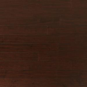 Heritage Mill Scraped Maple Coffee 3/8 in. x 4-3/4 in. Wide x Random Length Engineered Click Hardwood Flooring (22.5 sq. ft. / case)-PF9804 206093519