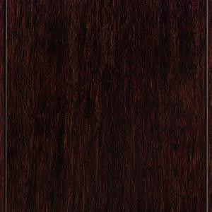 Home Legend Hand Scraped Strand Woven Walnut 3/8 in. Thick x 5 in. Wide x 36 in. Length Click Lock Bamboo Flooring (25 sq. ft./case)-HL209H 202876484