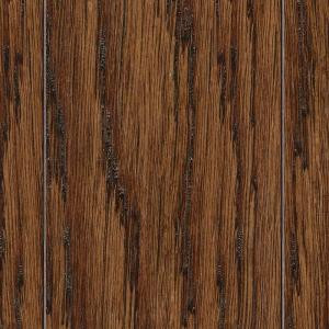 Home Legend HS Distressed Montecito Oak 3/8 in. T x 3-1/2 in. and 6-1/2 in. W x 47-1/4 in. L Click Lock Hardwood (26.25 sq.ft./Case)-HL163H 205163383