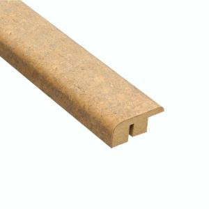 Home Legend Lisbon Sand 1/2 in. Thick x 1-7/16 in. Wide x 78 in. Length Cork Carpet Reducer Molding-HL9305CR 100659552