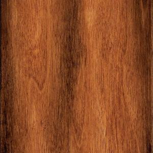 Home Legend Take Home Sample - Hand Scraped Manchurian Walnut Solid Hardwood Flooring - 5 in. x 7 in.-HL-639574 203190656