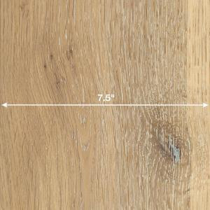 Home Legend Wire Brushed White Oak 3/8 in. x 7-1/2 in. Wide x 74-3/4 in. Length Click Lock Hardwood Flooring (30.92 sq. ft. / case)-HL315H 206279437