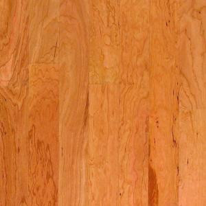 Millstead American Cherry Natural 1/2 in. Thick x 5 in. Wide x Random Length Engineered Hardwood Flooring (31 sq. ft. / case)-PF9554 202615239