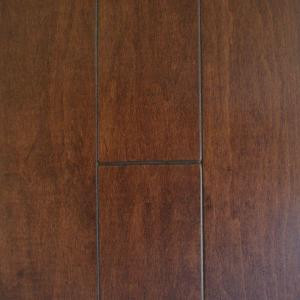 Millstead Antique Maple Cacao 3/4 in. Thick x 5 in. Width x Random Length Solid Real Hardwood Flooring (23 sq. ft. / case)-PF9574 202615260