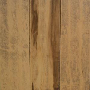 Millstead Handscraped Smoked Maple Natural 3/4 in. Thick x 5 in. Width x Random Length Solid Hardwood Flooring (23 sq. ft. / case)-PF9575 202615261