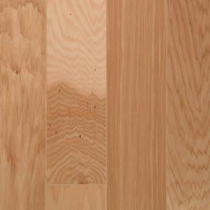 Millstead Hickory Vintage Natural 1/2 in. Thick x 5 in. Wide x Random Length Engineered Hardwood Flooring (31 sq. ft. / case)-PF9545 202615233