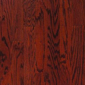 Millstead Oak Bordeaux 3/8 in. Thick x 3-3/4 in. Wide x Random Length Engineered Click Hardwood Flooring (24.4 sq. ft. / case)-PF9592 202617789
