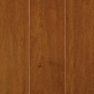 Mohawk Light Amber Maple 3/8 in. T x 5 in. W x Random Length Soft Scraped Engineered Hardwood Flooring (23.5 sq. ft. / case)-HEMS5-01 203642069
