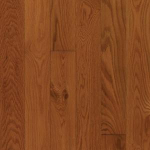 Mohawk Oak Gunstock 3/8 in. Thick x 5-1/4 in. Wide x Random Length Engineered Click Hardwood Flooring (22.5 sq. ft. / case)-HGO45-50 202358117