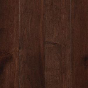 Mohawk Portland Bourbon Maple 3/4 in. Thick x 5 in. Wide x Random Length Solid Hardwood Flooring (19 sq. ft. / case)-HSC79-13 206820771