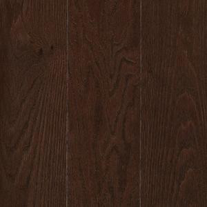 Mohawk Raymore Oak Chocolate 3/4 in. Thick x 5 in. Wide x Random Length Solid Hardwood Flooring (19 sq. ft. / case)-HCC58-11 203223828