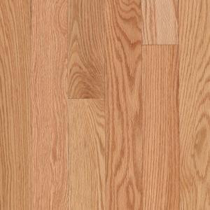 Mohawk Raymore Red Oak Natural 3/4 in. Thick x 3-1/4 in. Wide x Random Length Solid Hardwood Flooring (17.6 sq. ft. / case)-HCC57-10 203223838
