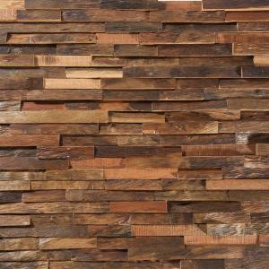 Nuvelle Deco Strips Antique 3/8 in. x 7-3/4 in. Wide x 47-1/4 in. Length Engineered Hardwood Wall Strips (10.334 sq. ft. / case)-NV15DS 206194856