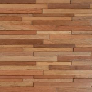 Nuvelle Take Home Sample - Deco Strips Koa Engineered Hardwood Wall Strips - 5 in. x 7 in.-SC-194853 300234466