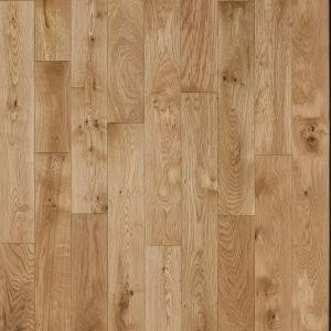 Nuvelle Take Home Sample - French Oak Nougat Click Solid Hardwood Flooring - 5 in. x 7 in.-SC-634113 300234465