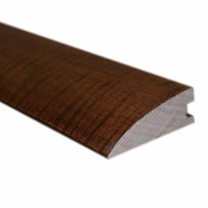 Oak Gunstock 1/2 in. Thick x 1-3/4 in. Wide x 78 in. Length Hardwood Flush-Mount Reducer Molding-LM6718 203438384