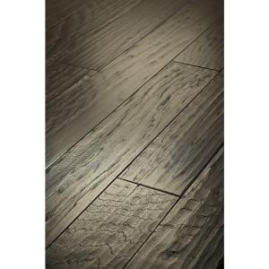 Shaw Western Hickory Winter Grey 3/8 in. Thick x 5 in. Wide x Random Length Engineered Hardwood (19.72 sq. ft. / case)-DH83300510 202809023
