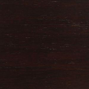 Take Home Sample - Strand Woven Warm Espresso Solid Bamboo Flooring - 5 in. x 7 in.-AA-171014 205515490