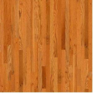 TrafficMASTER Take Home Sample - Woodale Carmel Oak Solid Hardwood Flooring - 5 in. x 7 in.-DH82900193 207003915