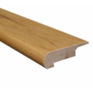 Vintage Hickory Natural 0.81 in. Thick x 3 in. Wide x 78 in. Length Hardwood Lipover Stair Nose Molding-LM6343 202103118