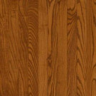 Bruce Take Home Sample - Plano Oak Strip Gunstock Solid Hardwood Flooring - 5 in. x 7 in.-BR-213570 206599309