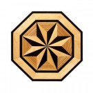 PID Floors 3/4 in. Thick x 36 in. Wide Octagon Medallion Unfinished Decorative Wood Floor Inlay MT003-MT0031 203424573